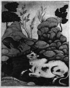 Panchatantra-jackal-bull