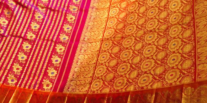 sari weaver india