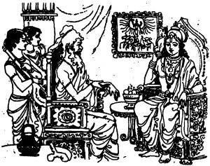 ಸೀತೆಯನ್ನು ಕರೆತರುವಂತೆ ಶ್ರೀರಾಮನು ವಾಲ್ಮೀಕಿಯನ್ನು ಬೇಡಿಕೊಂಡನು.